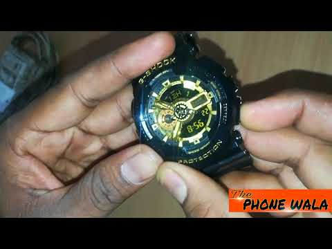 How To Adjust Time On ALL G-SHOCK Watch (Analog & Digital) In HINDI