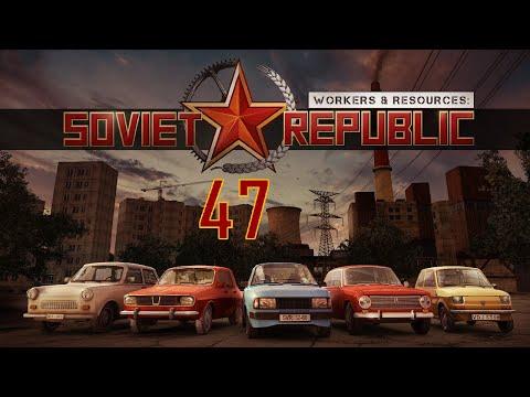 Soviet Republic #47. Роем канал.