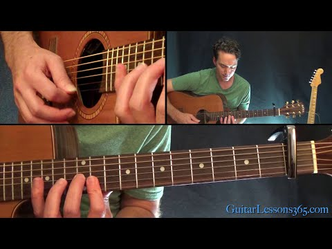 Clocks Guitar Lesson - Coldplay