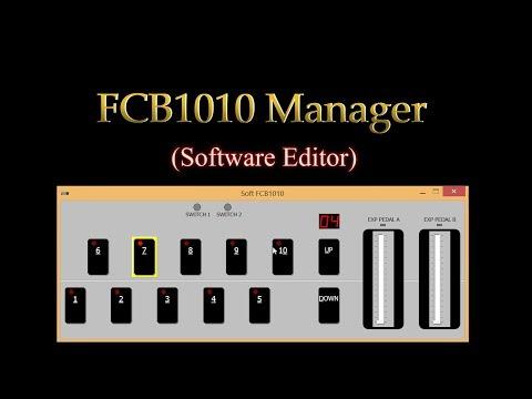 FCB1010 Manager Tutorial (Software Editor)