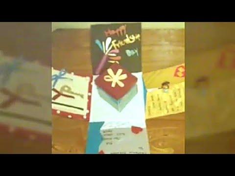Explosion box | Friendship day card | Handmade gift ideas