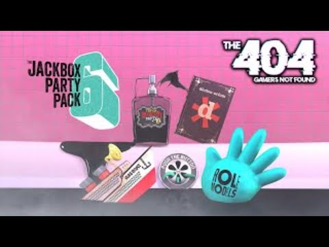 The 404: Jackbox Games Live Stream