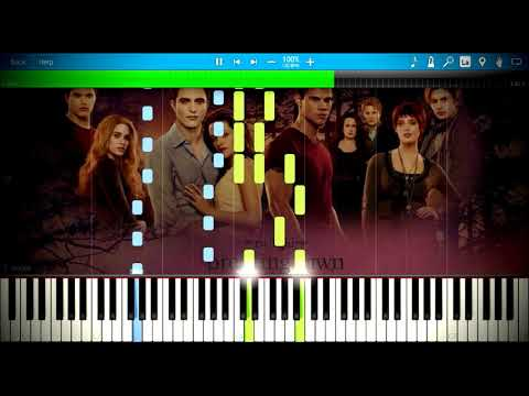 Carter Burwell - A Nova Vida | Synthesia Piano Tutorial
