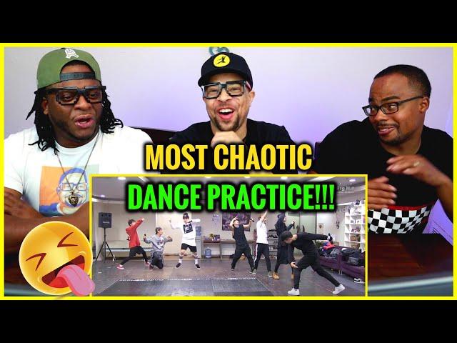 BTS - Attack on Bangtan - Dance Practice REACTION ‼😮