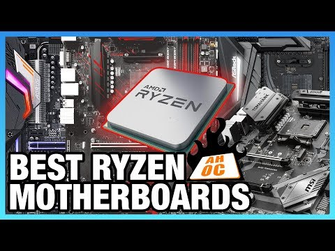 Best Motherboards for AMD Ryzen 2018 - AM4 X470 & B450