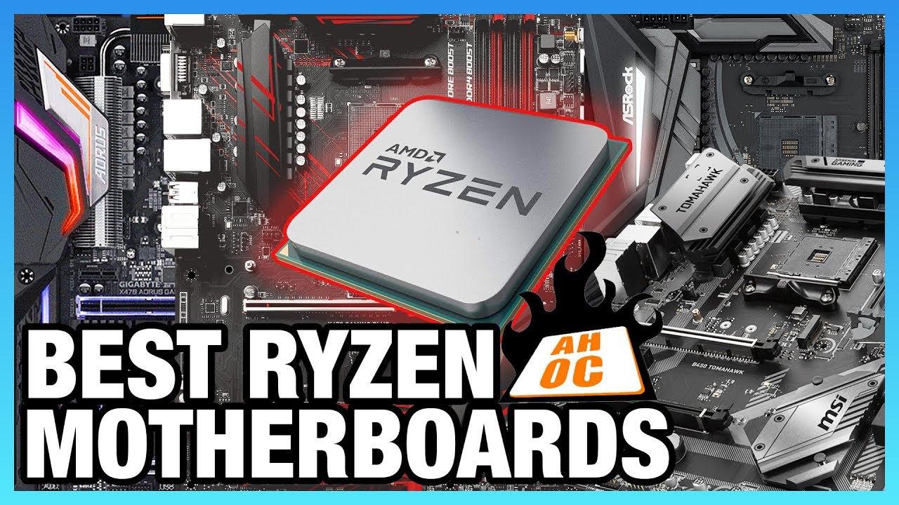 Best Motherboards for AMD Ryzen 2018 - AM4 X470 & B450