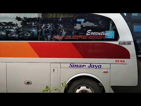 Lihat Bus Sinar Jaya  Parkir di Terminal Purwokerto