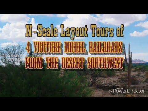 Layout Tours of 4 Amazing N Scale Model Railroads
