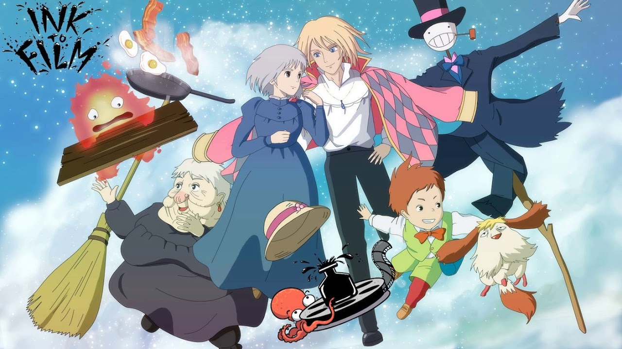 Ep 16 Ink To Film Howl S Moving Castle 2004 Film Podcast Audio Only Discussion Reaction Youtube