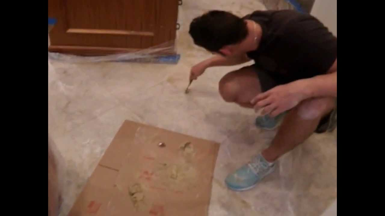 Howto repair marble floor cracks youtube howto repair marble floor cracks dailygadgetfo Image collections