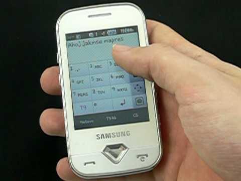 Samsung S7070 Diva - zprávy