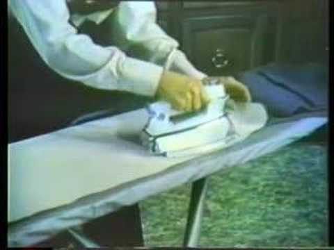 Sunbeam Steam Iron ad 1973