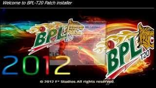 BPL T20 Patch (Bangladeshi Premier League 2012) PC Game