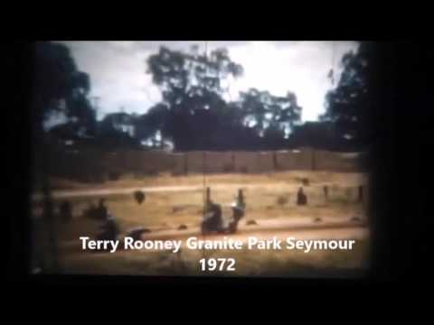 Australian Speedway Sidecars-Terry Rooney Granite Park Seymour 1972