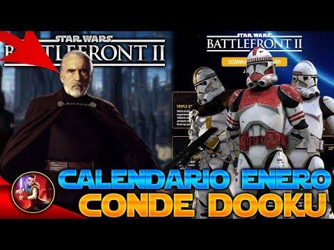 FECHA del CONDE DOOKU + ACTUALIZACIÓN/CALENDARIO ENERO - Nuevas Noticias - Star Wars Battlefront 2 thumbnail