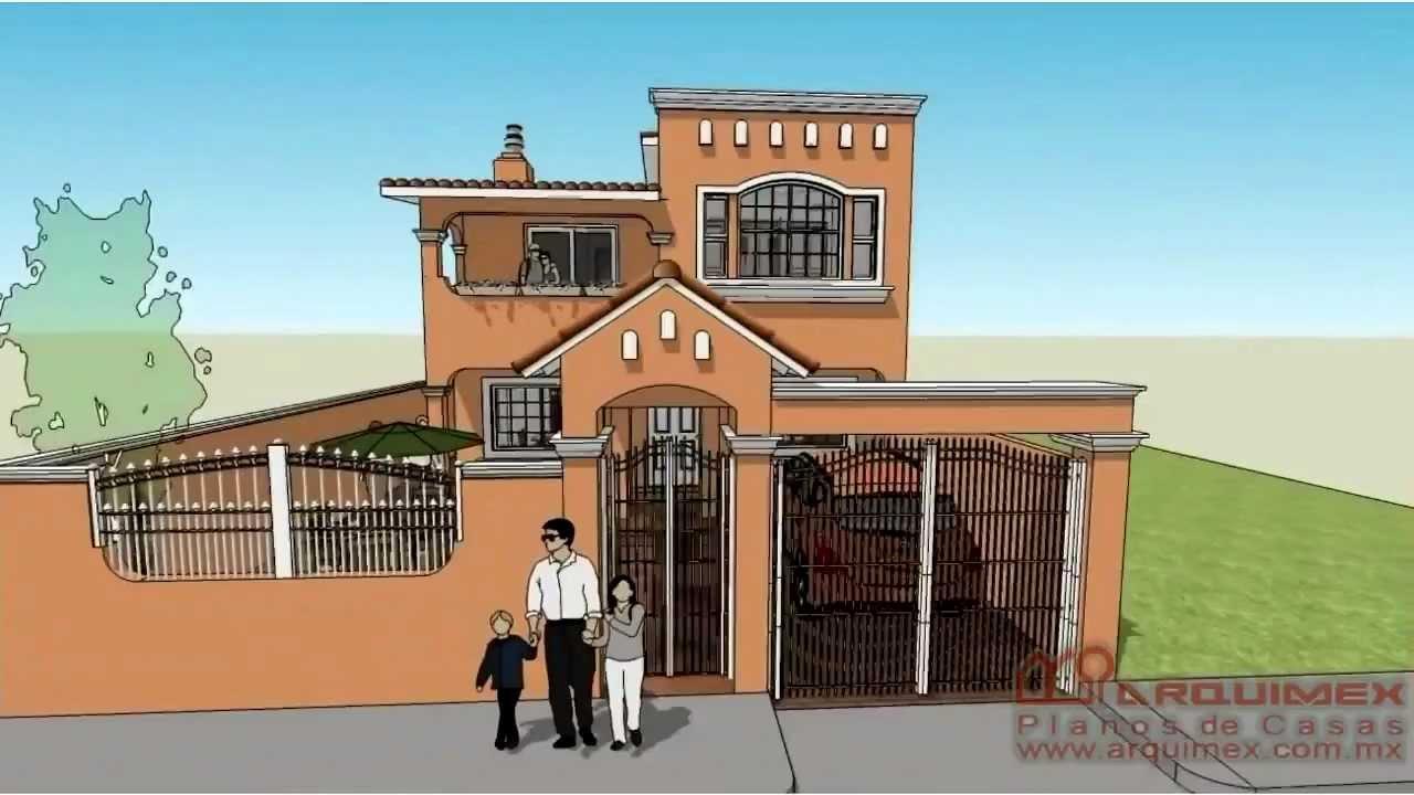 Planos de casas modelo san armando 24 arquimex planos for Planos de casas youtube