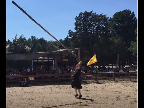 Worlds Most Perfect Caber Toss