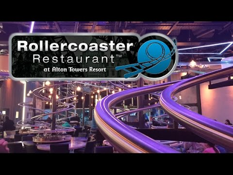 Alton Towers Rollercoaster Restaurant - Opening Day
