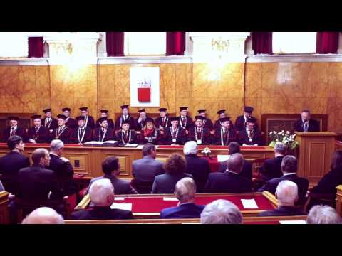 Teden Univerze v Ljubljani, Slavnostna seja senata