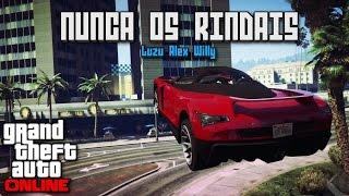 NUNCA OS RINDAIS!!! - Carreras GTA V Online con Willy y Alex - [LuzuGames]