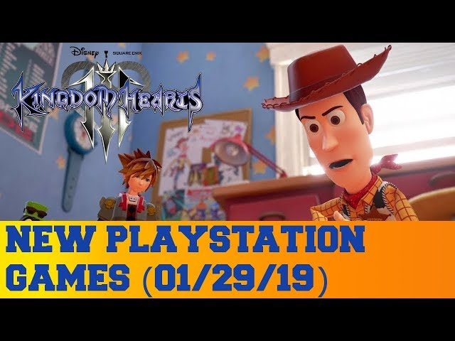 New PlayStation Games for January 29th 2019