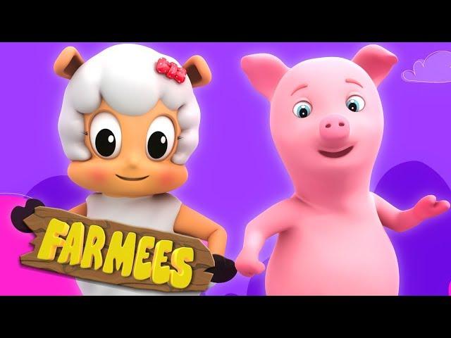 Tweedledum And Tweedledee | Rhymes For Kids by Farmees