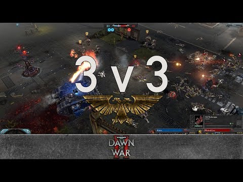 Dawn of War 2 - Faction Wars 2017 | Space Marines vs Orks #3