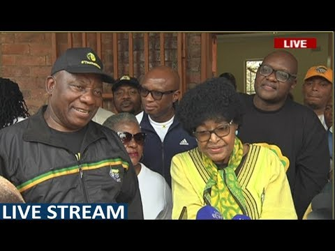 Ramaphosa, Winnie Mandela on voter registration campaign: 10 March 2018