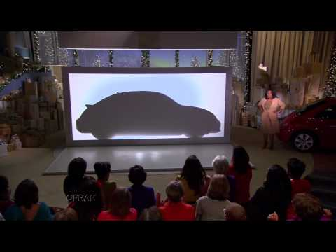 2012 VW Beetle reveal on Oprah