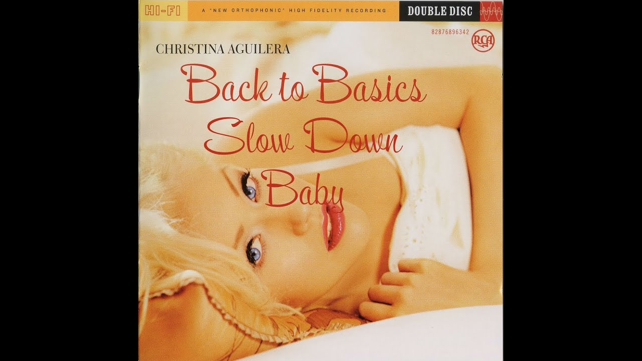 Christina Aguilera Slow Down Baby Youtube