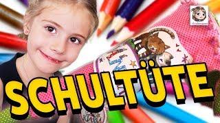 HANNAHS SCHULTÜTE - ÜBERRASCHUNG 🎉 Der 1. Schultag ist vorbei und die Zuckertüte wird geöffnet!