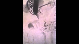 speed drawing of wiz khalifa