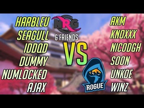 NRG & Friends VS. Rogue 6-Stack S4 PLACEMENTS (ft. SoOn, IDDQD, Seagull)