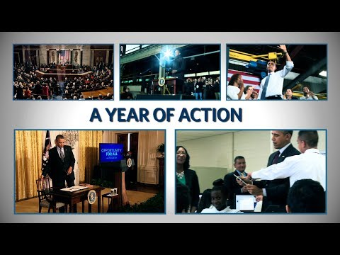 "Year of Action: ""We're not done yet"""