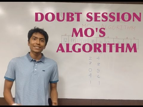 Doubt Clearing Session - Mo's Algorithm