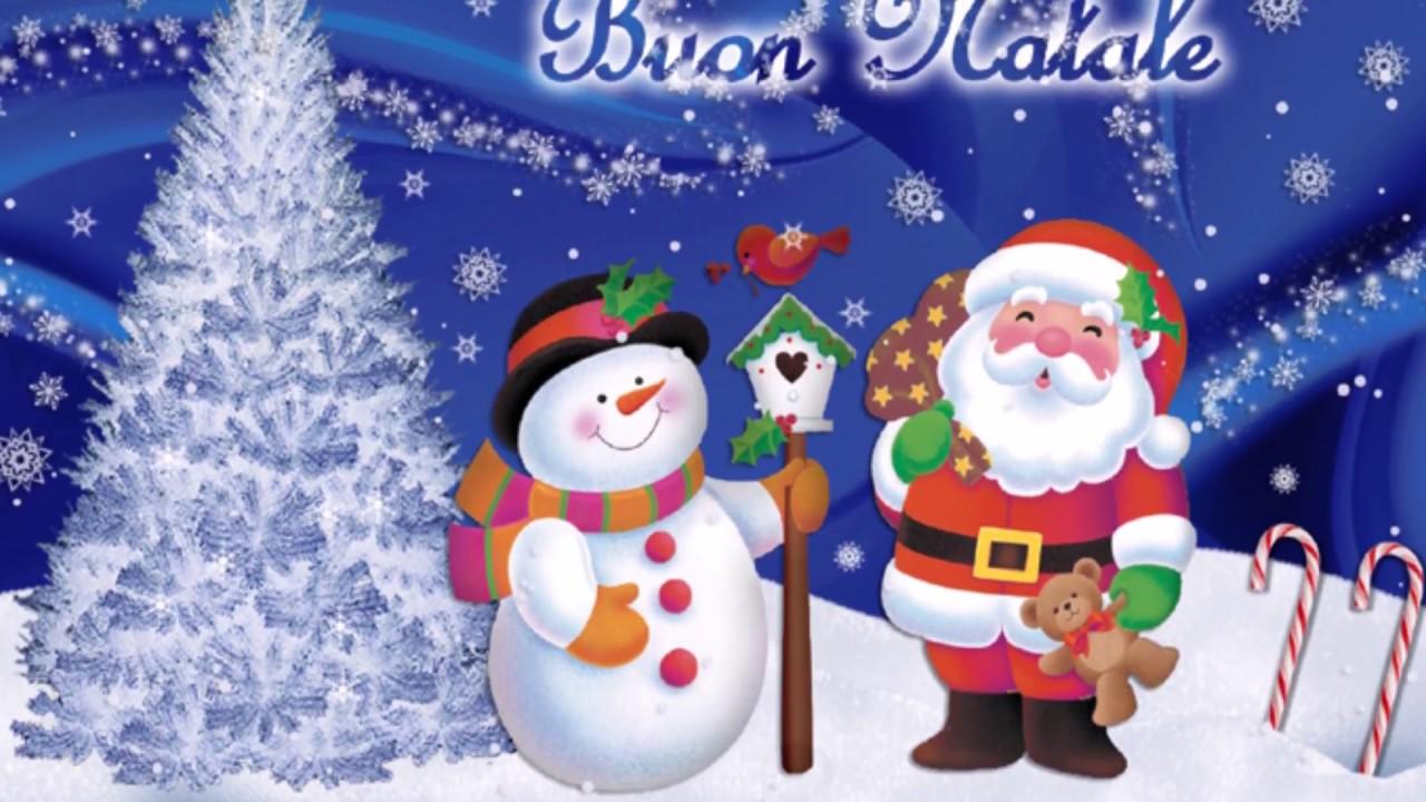 Cartoline Di Auguri Di Natale.Auguri Di Buon Natale Frasi Di Natale Immagini Cartoline Gif