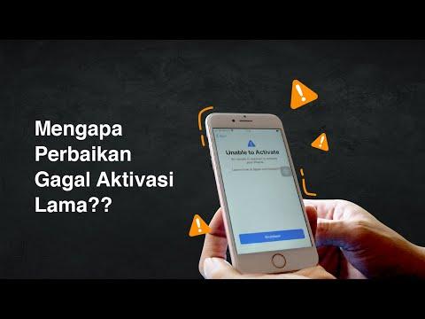 Penyebab dan solusi iPhone yang gagal aktivasi by @bengkeliphone Bandung.