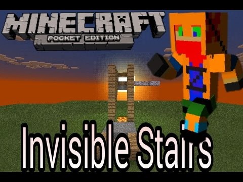 how to turn invisible in minecraft pe