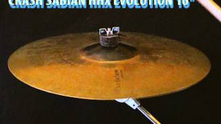 sabian hhx evolution crash 16 cymbal
