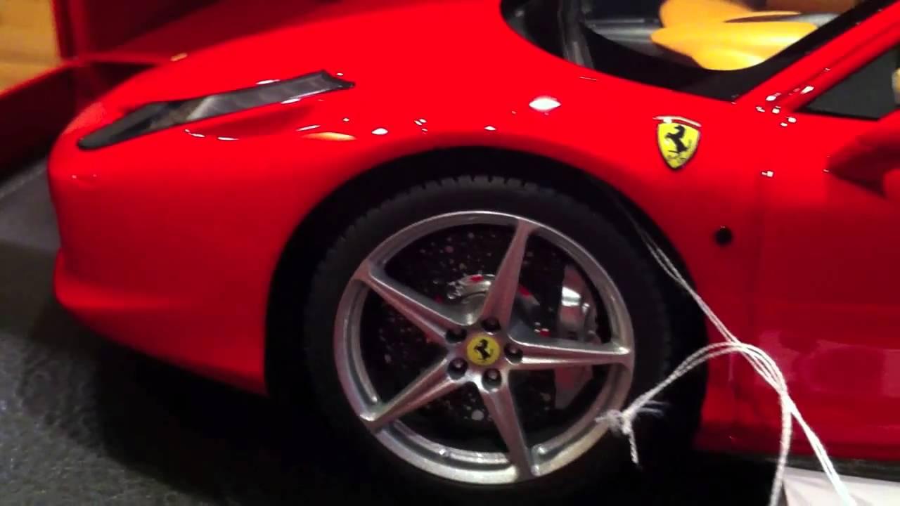BBR Models Ferrari 458 Italia Diecast Car   Ferrari Diecast Cars From BBR    YouTube