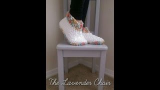 Cloud 9 and Chucky Brick Slippers Crochet Tutorial