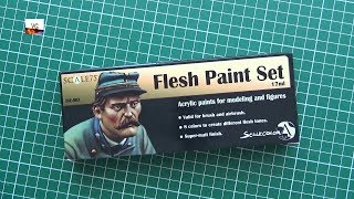 Scale 75 Flesh Paint Set Review Youtube