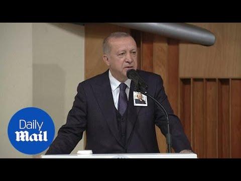 Turkish President Erdogan condemns New Zealand mosque attack
