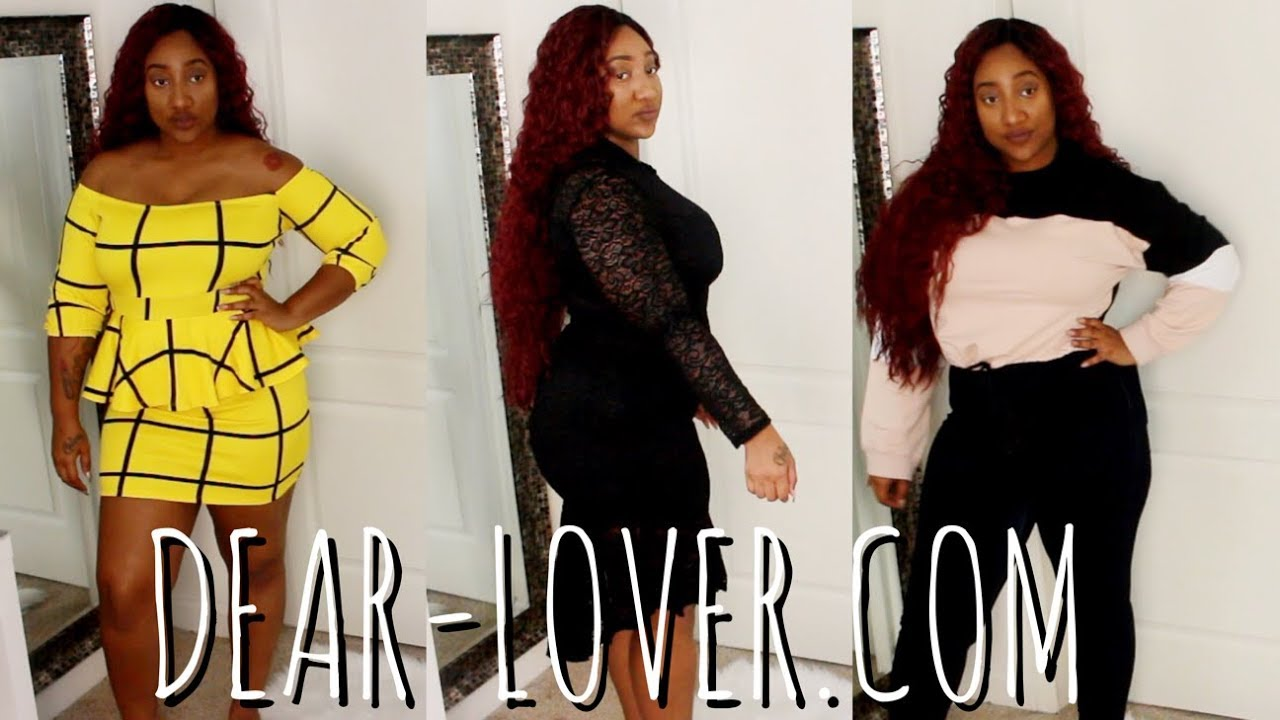 431333e90c I SPENT  160 ON DEAR-LOVER.COM  PLUS SIZE TRY ON HAUL ...