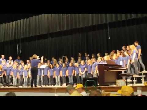 Armuchee Middle School Chorus @ Tribefest 2014