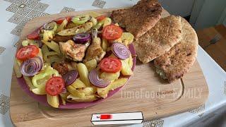 Этот рецепт выручает всегда запекаем картошку с курицей запеченная картошка