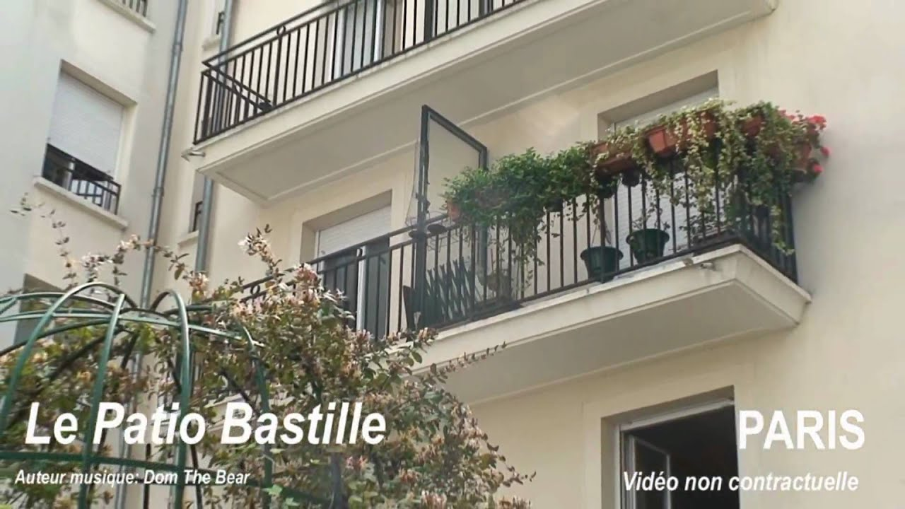 Paris 75011 r sidence tudiante le patio bastille youtube for Chambre crous paris