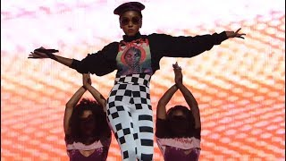 Janelle Monae, Yoga, Hulu Theater at MSG, NYC 7-18-18