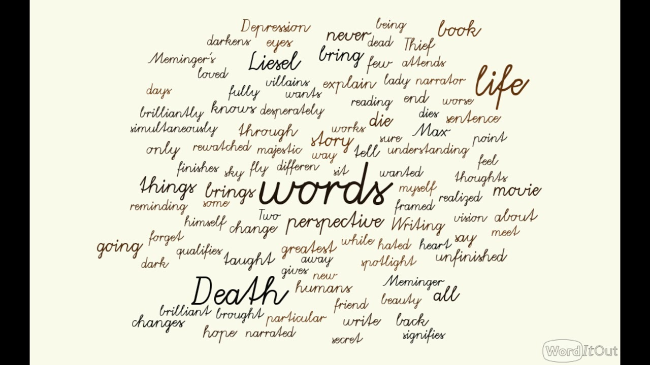 death s perspective and living words the book thief a spotlight death s perspective and living words the book thief a spotlight video essay