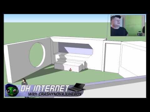 3d virtual set idea made with sketchup